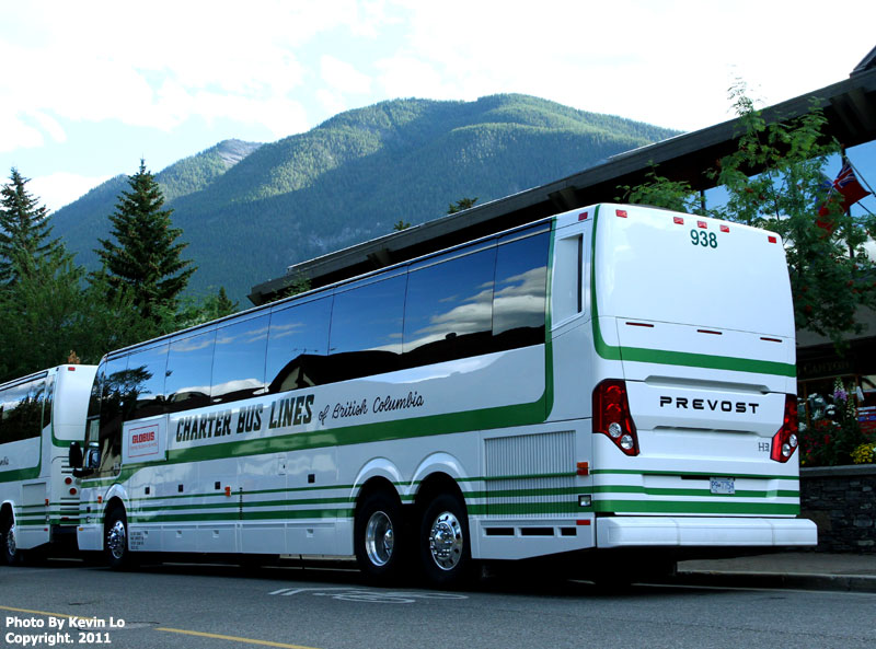 Charter Bus Lines Of British Columbia Prevost H3