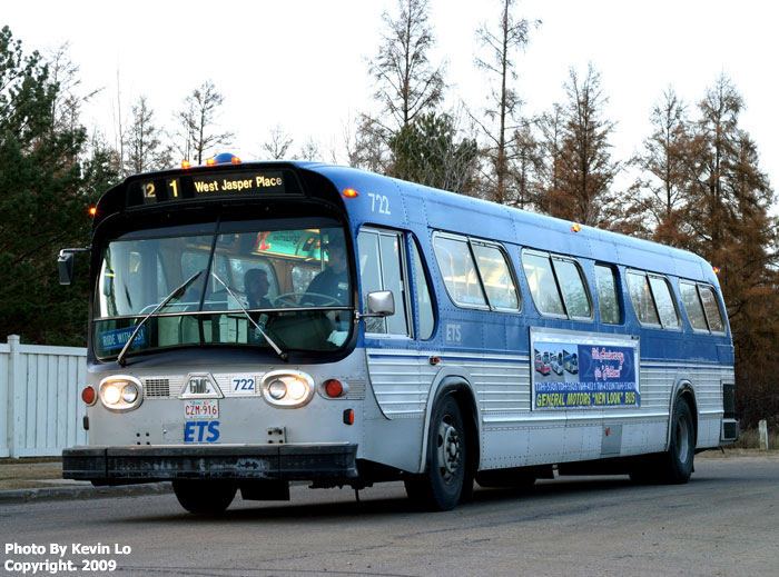 Old Mill Gm >> ETS GM New Look Farewell Charter Bus #722