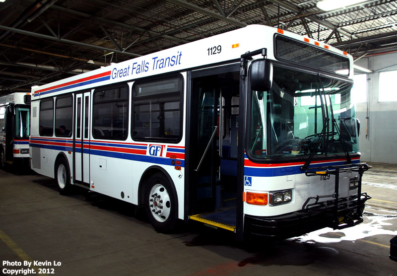 Great Falls Transit >> Great Falls Transit Photos Gillig Advantage Low Floor