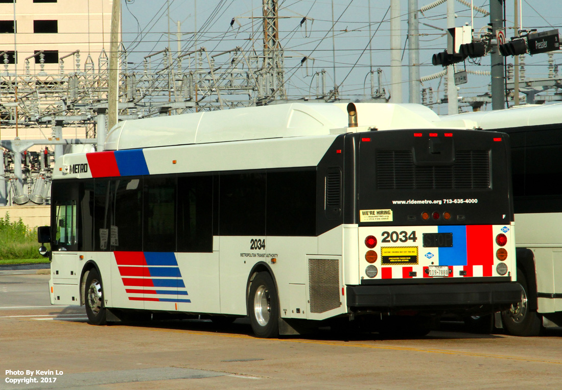 Metropolitan Transit Authority Of Harris County Nabi 40lfw