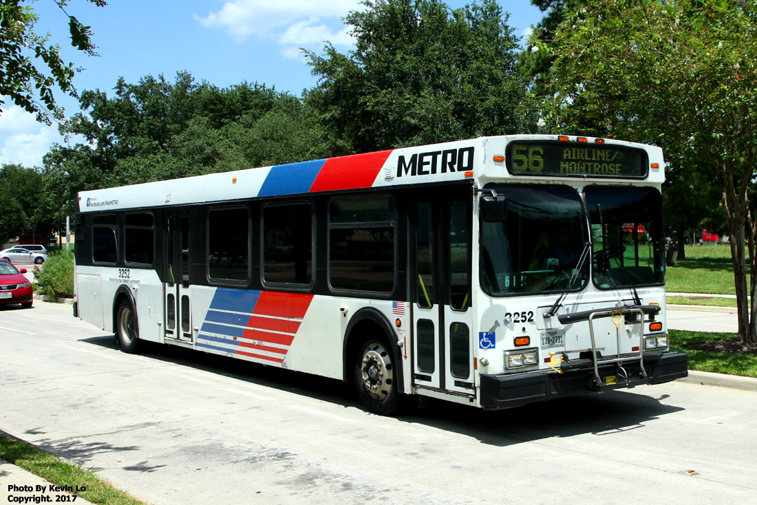 Metropolitan Transit Authority Of Harris County New Flyer