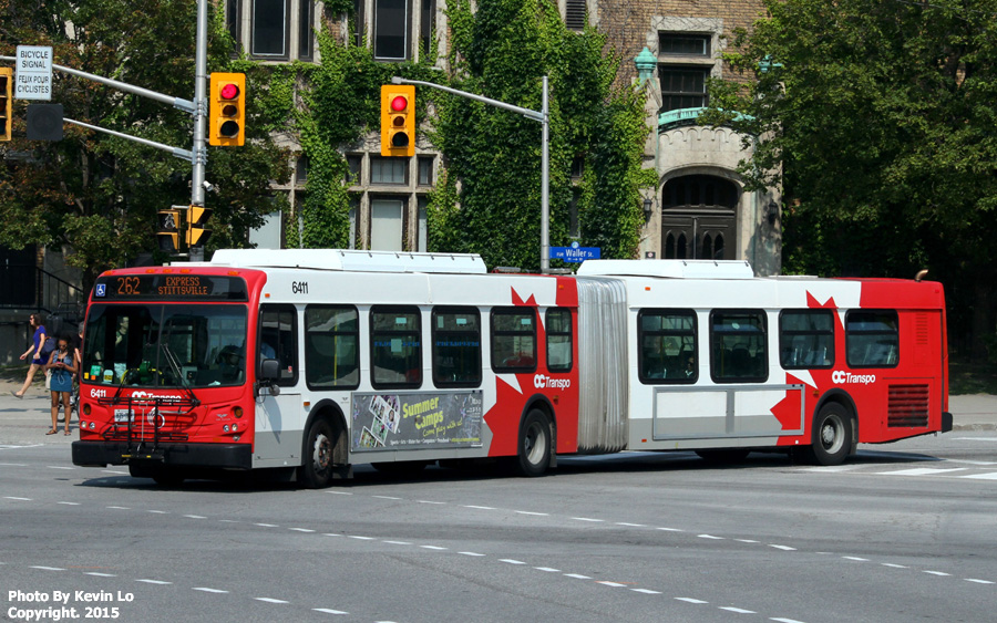 Oc Transpo Ottawa Transit New Flyer D60lfr Photos