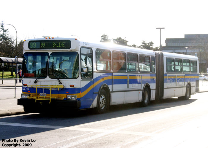 B3017 2 At UBC Loop Working The 99 B Line