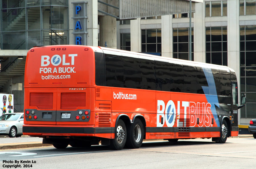 Photo taken at Bolt Bus (NYC-Boston) by Greg B. on 6