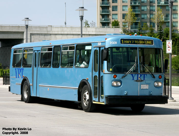 York Region Transit Orion I Photos